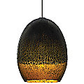 Silver Glaze Pendant by Bacchus Glass for Tech Lighting