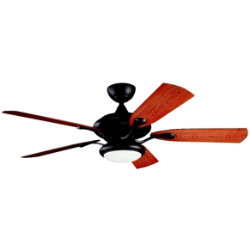 Aldrin Patio Outdoor/Indoor Ceiling Fan by Kichler