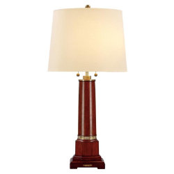 Edwin Pedestal Table Lamp - Lauren by Ralph Lauren