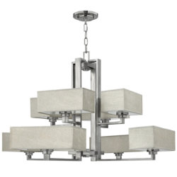 Quattro Two-Tier Chandelier by Fredrick Ramond