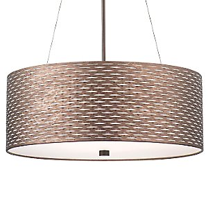 Cabaret Drum Pendant by Forecast Lighting