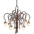 Tribecca Chandelier No. 4308/4309 by Kalco Lighting