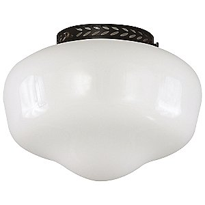 Schoolhouse Indoor/Outdoor Fan Bowl Light Kit by Savoy House