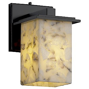 Alabaster Rocks! Montana Wall Sconce by Justice Design