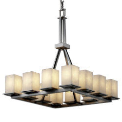 Clouds Montana 12-Light Chandelier by Justice Design