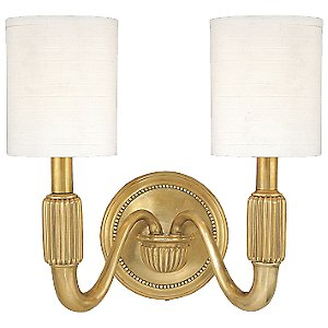 Tuilerie 2-Light Wall Sconce by Hudson Valley