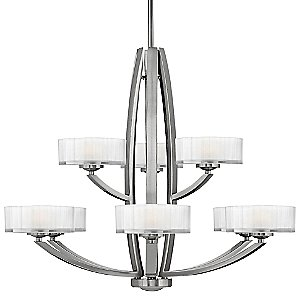 Meridian Two-Tier Chandelier by Hinkley Lighting