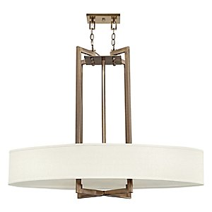Hampton Oval Drum Pendant by Hinkley Lighting
