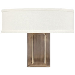 Hampton Two Light Wall Sconce by Hinkley Lighting