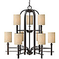 Sloan Two-Tier Chandelier by Hinkley Lighting