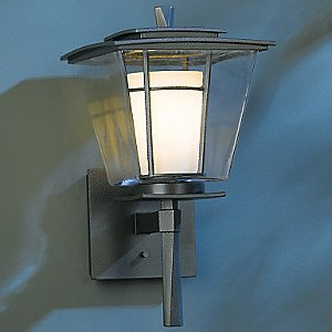 Beacon Hall Outdoor Small Wall Sconce by Hubbardton Forge