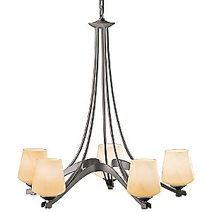 Ribbon Chandelier by Hubbardton Forge