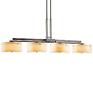 Trestle Linear Suspension with Glass or Shade Option by Hubbardton Forge