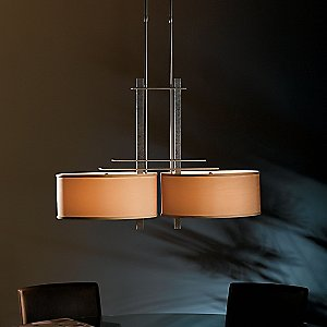 Ondrian Adjustable 2 Light Drum Pendant By Hubbardton Forge