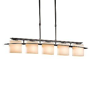 Large-Scale Arc Ellipse 5-Light Adjustable Pendant by Hubbardton Forge