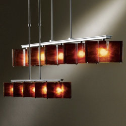 Large-Scale Exos Wave 5-Light Adjustable Pendant by Hubbardton Forge