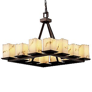 LumenAria Montana 12-Light Chandelier by Justice Design