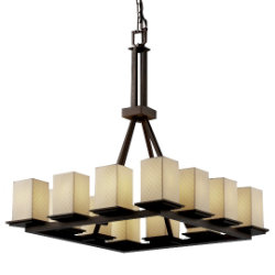 Limoges Montana 12 Light Chandelier by Justice Design