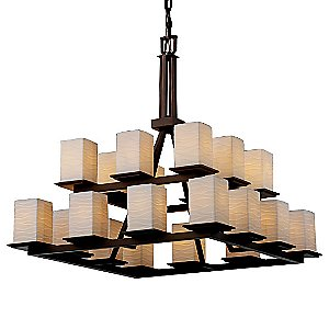 Limoges Montana Two Tier Chandelier by Justice Design