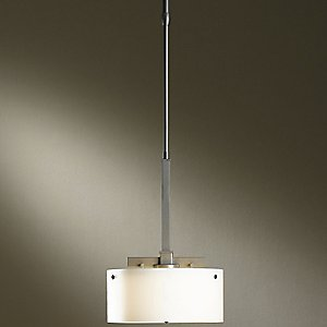 Trestle Adjustable Pendant with Glass Options by Hubbardton Forge