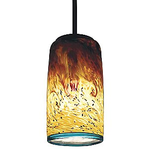 Whitney Tall Cylinder Pendant by WPT Design