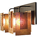 Spider Mica Double Sconce by WPT Design