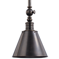 Darien Metal Pendant by Hudson Valley