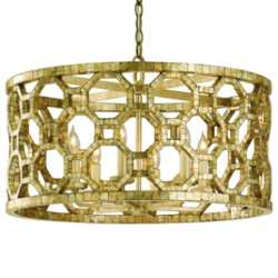 Regatta Drum Pendant by Corbett Lighting