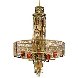 Riviera Suspension by Corbett Lighting