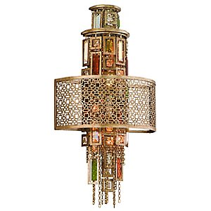 Riviera Wall Sconce by Corbett Lighting