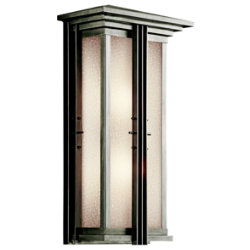 Portman Square Outdoor Wall Sconce No. 49160 by Kichler