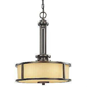 Bridgetown Drum Pendant by Dolan Designs