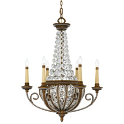 Empire Chandelier by Quoizel