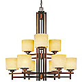 Roxbury 2-Tier Chandelier by Dolan Designs
