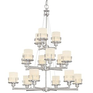 Metropol 3-Tier Chandelier by Dolan Designs