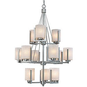 Uptown Three-Tier Chandelier by Dolan Designs