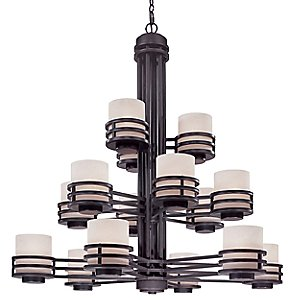 Saturn Three Tier Chandelier by Dolan Designs