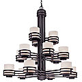 Saturn Three-Tier Chandelier by Dolan Designs