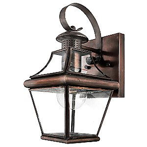Carleton Outdoor Wall Sconce No. 8406 by Quoizel