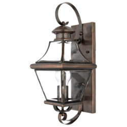 Carleton Outdoor Wall Sconce by Quoizel