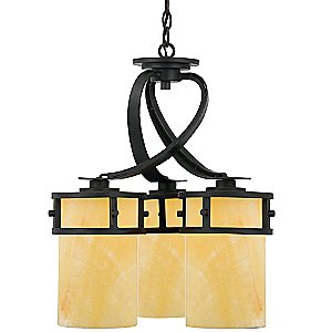 Kyle Downlight Chandelier by Quoizel
