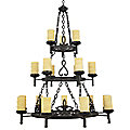 La Parra 3-Tier Chandelier by Quoizel