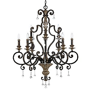 Marquette Chandelier by Quoizel