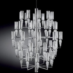 Subzero 50-Light Chandelier by AXO Light