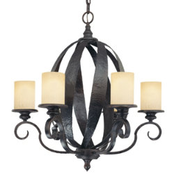 Carmel Chandelier by Savoy House