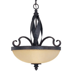 Carmel Bowl Pendant by Savoy House