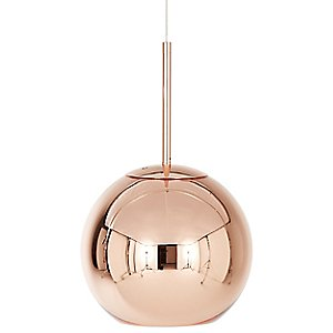 Copper Shade Pendant by Tom Dixon