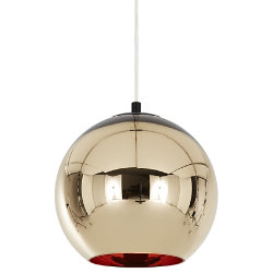 Bronze Copper Shade Pendant by Tom Dixon