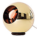 Bronze Copper Shade Floor Lamp by Tom Dixon