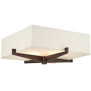 Fisher Island Square Flushmount by Forecast Lighting
